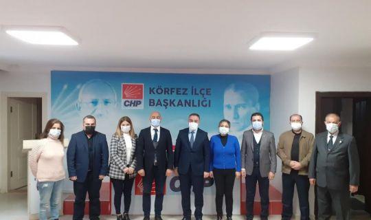CHP Körfez, DEVA'yı ağırladı