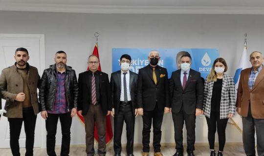 DEVA Partisi, Ağrılılar Derneği Başkanı Nurettin Kaplan'ı ağırladı