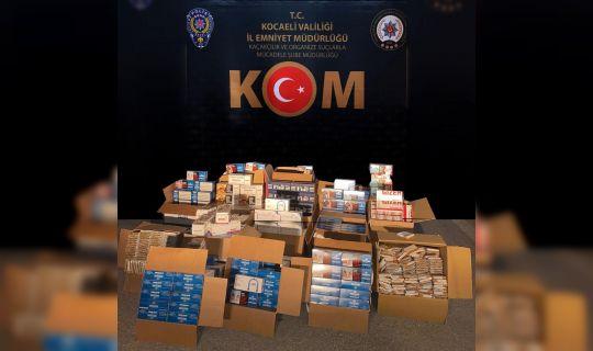 Kocaeli Emniyet Müdürlüğü, uyuşturucu kaçakçılarına göz açtırmıyor