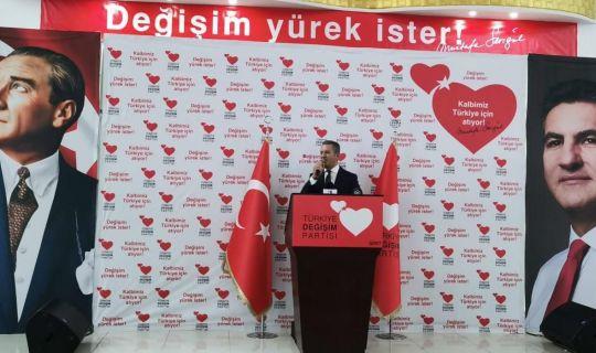 TDP Genel Başkanı Sarıgül, Sistemin adamı değil, halkımızın evladı olacağız