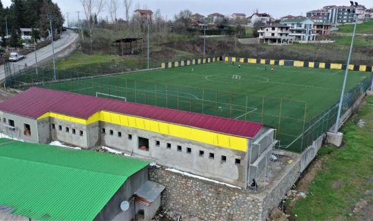 Bahçecik Stadı Spor Tesisi'nde Sona Gelindi
