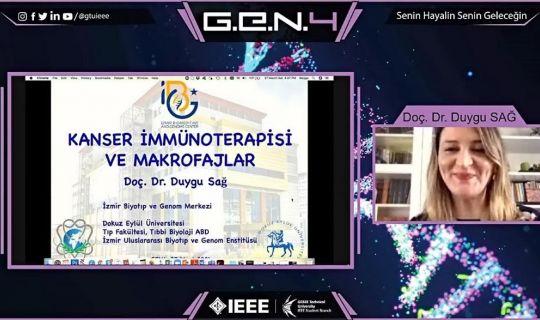 G.E.N. 4 Bilim İnsanlarını Öğrencilerle Buluşturdu.