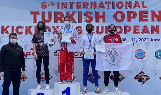 Körfez'e Antalya'dan altın madalya