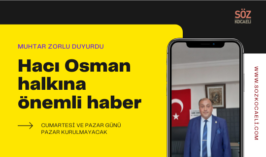 Hacı Osman Dikkat!!!