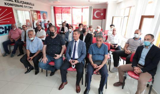 Hürriyet, CHP Körfez'i  ziyaret etti