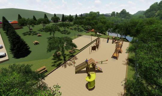İkinci Büyük Millet Bahçesi Başiskele Damlar'da Çalışmalar Sürüyor