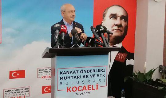 Kemal Kılıçdaroğlu Kocaeli'de