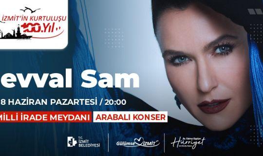 Şevval Sam Konseri, Milli İrade Meydanı'nda