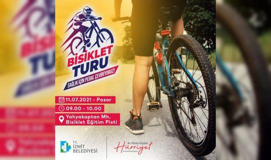 İzmit Belediyesi, halkı bisiklet turuna davet etti