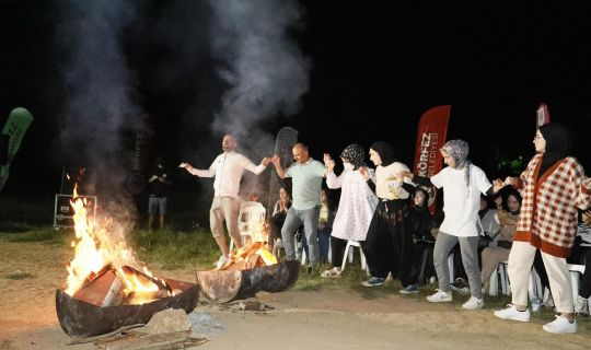 Körfez'de 'kamp ateşi' yandı