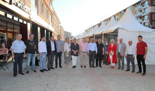 Mimar Sinan'da panayır coşkusu