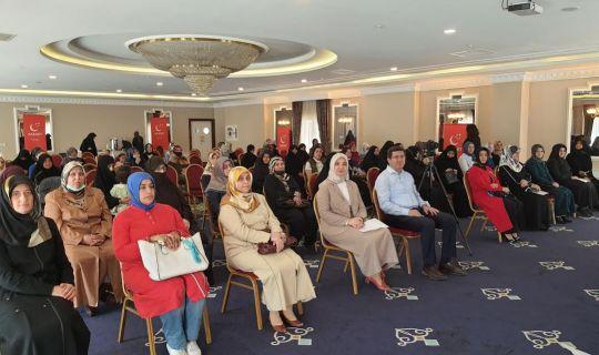 Saadet Partisi Kocaeli Kadın Kolları, İl Divan Toplantısı yaptı.