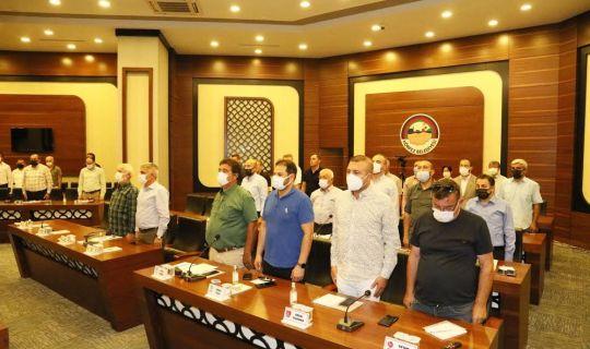 Körfez'de, Ağustos ayı meclisi yapıldı