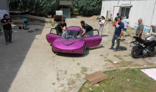 KOU Electromobile Takımı'nda ilk yarış heyecanı