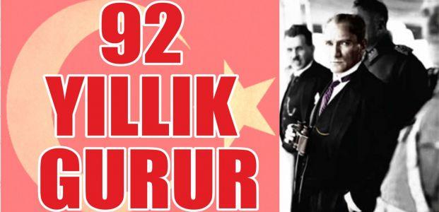 92 YILLIK GURUR