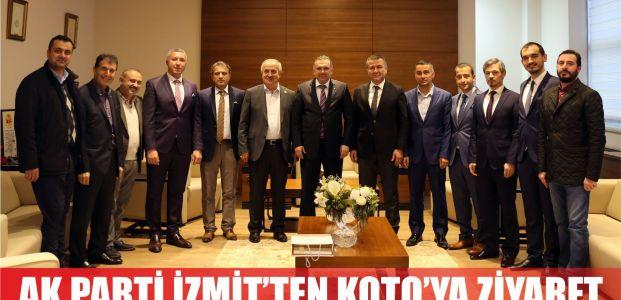 AK Parti İzmit İlçe Teşkilatı'ndan KOTO'ya ziyaret