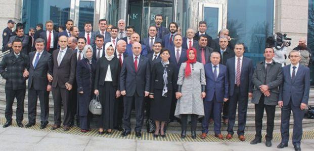 AKP milletvekilleri aday adaylarının mülakatları başladı