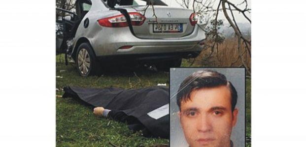 Araç takla attı sürücü öldü
