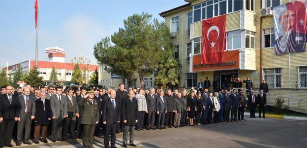 Atatürk, Kartepe'de Özlem ve Saygıyla Anıldı