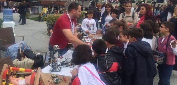 Avrupa Bilim ve Eğlence Günü'ne katıldık