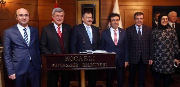 Bakan Eroğlu ''Büyükşehir'in çalışmalarını takdir ediyorum''