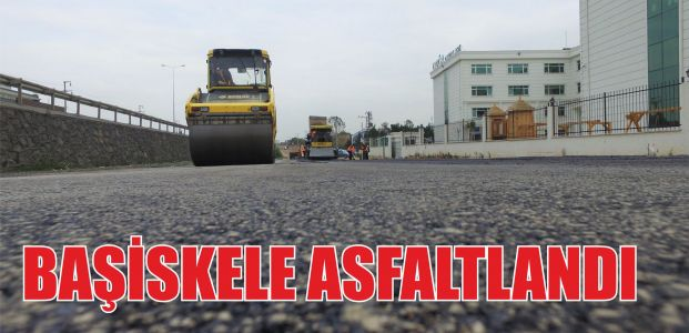 Başiskele asfaltlandı