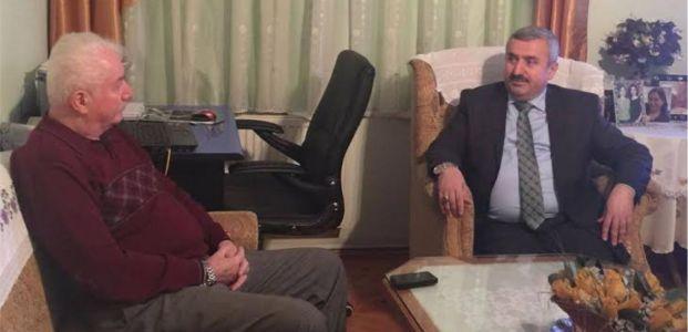 Başkan Baran, Erhan Yenilmez'i Ziyaret Etti