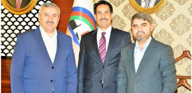 Başkan Baran Kocaeli Milletvekili Cemil Yaman'ı Ağırladı
