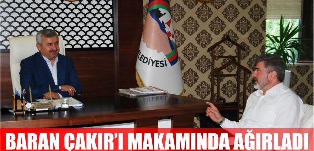 Başkan Baran, Sami Çakır'ı Makamında Ağırladı