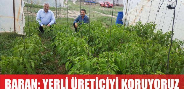 Başkan Baran: Yerli üreticiyi destekliyoruz