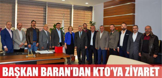 BAŞKAN BARAN'DAN KÖRFEZ TİCARET ODASINA ZİYARET