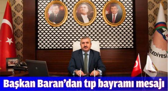 Başkan Baran'dan Tıp Bayramı mesajı