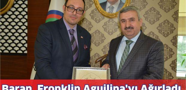 Başkan Baran,Malta Baş Konsolosu FronklinAguilina'yı Ağırladı