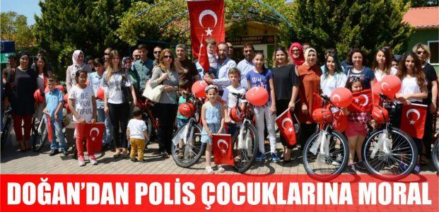 Başkan Doğan, polis çocuklarını mutlu etti