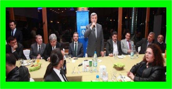 Başkan, Gebze mahalle muhtarlarıyla buluştu