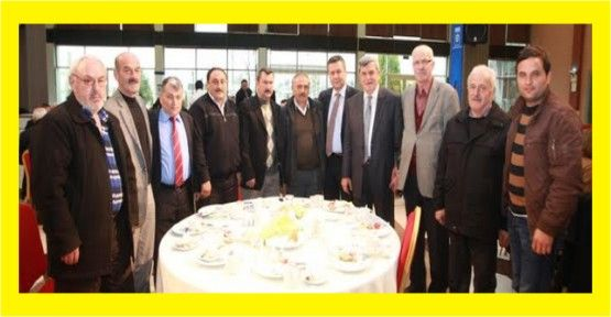 Başkan, İzmit mahalle muhtarlarıyla buluştu