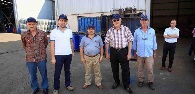 Başkan Karaosmanoğlu: Geri dönüşüme katkı sağlıyoruz