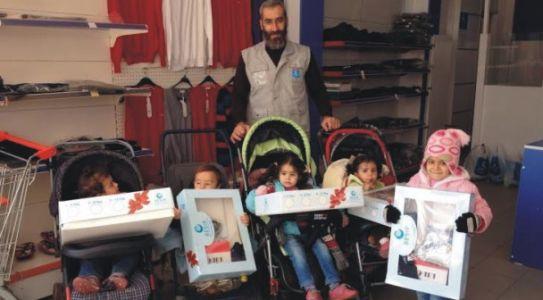 Beşir Derneği Suriyeli Çocukları Sevindirdi