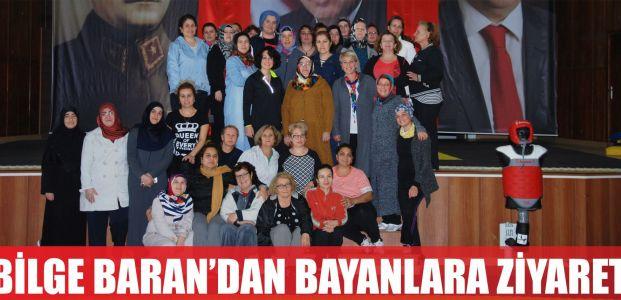 Bilge Baran'dan bayanlara ziyaret