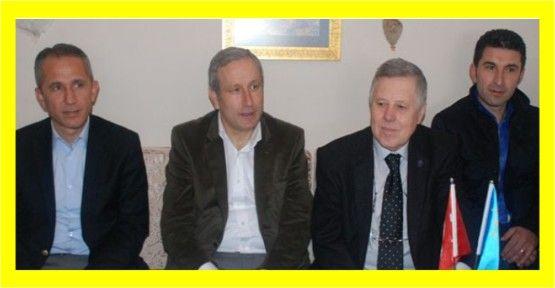 Bulut, Kırım Türkleri'ni ziyaret etti