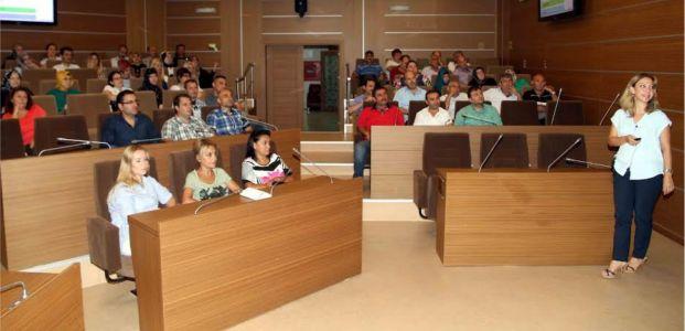 Büyükşehir personeline üniversite ayarında eğitim