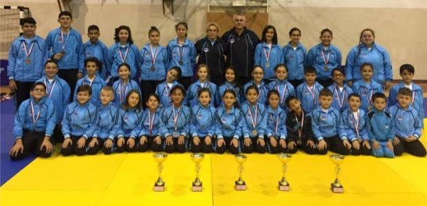 Büyükşehir'in Judocuları Silip Süpürüyor