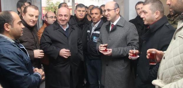 """Ceyhan """"Saldırılarla AK Parti teşkilatlarını kimse yıldıramaz"""""""
