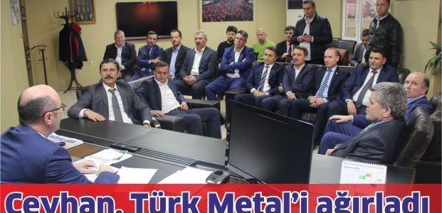 Ceyhan Türk Metal'i ağırladı
