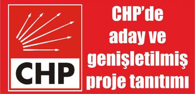 Chp aday ve projelerini tanıtacak