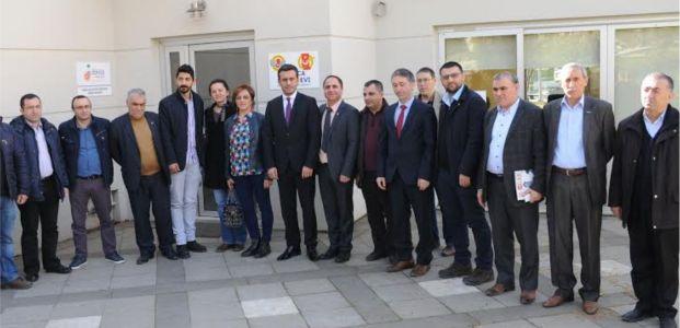 CHP Darıca yönetimi Darıca Medyaevi'ni ziyaret etti