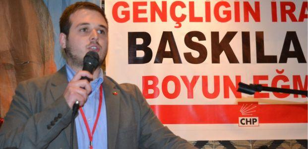 CHP gençlerde başkan Murat Erinç