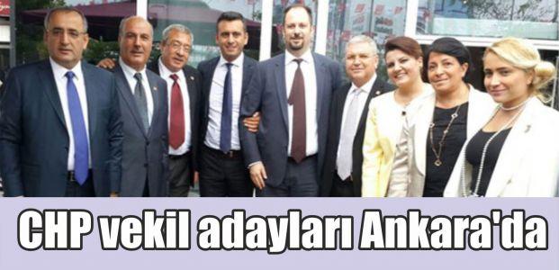 CHP vekil adayları Ankara'da