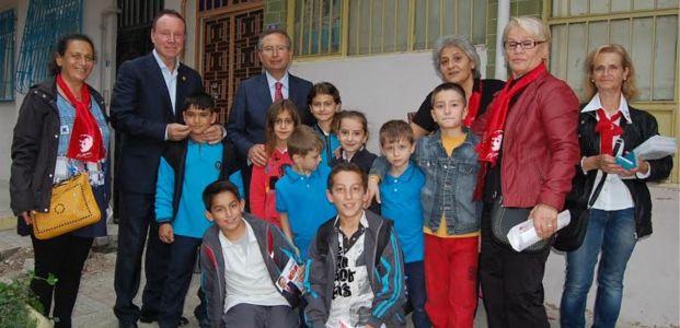 CHP'li Dumlu'ya Erenkaya desteği