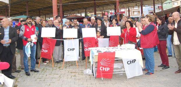 CHP'liler Körfez ve Hereke'de destek istedi